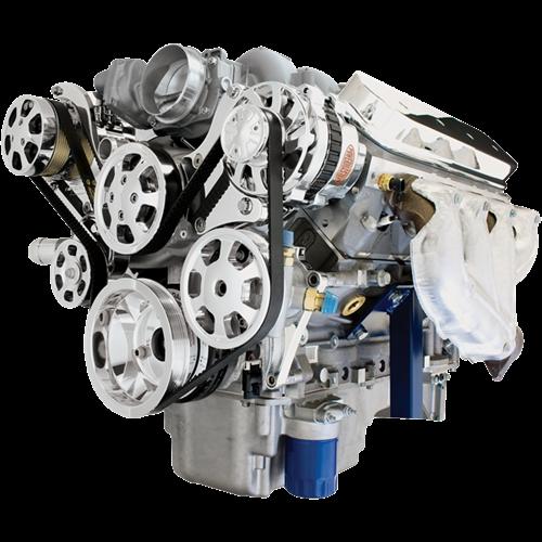 Premium Tru Trac Serpentine System - LS7 Engine (Top Mount)
