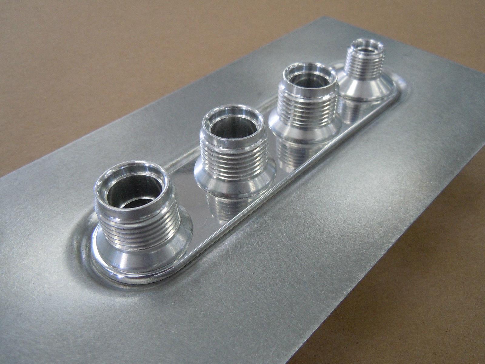 Vintage Air Bulkhead - 4 Way In Line - 18 Gauge Sheet Metal Panel