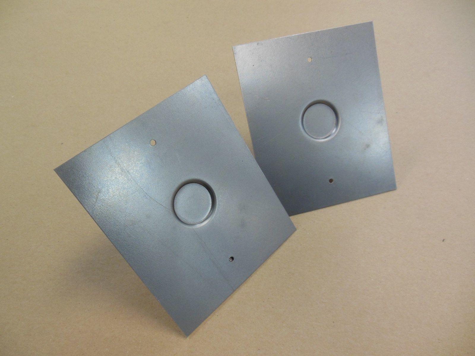 18 Gauge Stamped Recessed Key Lock Panels