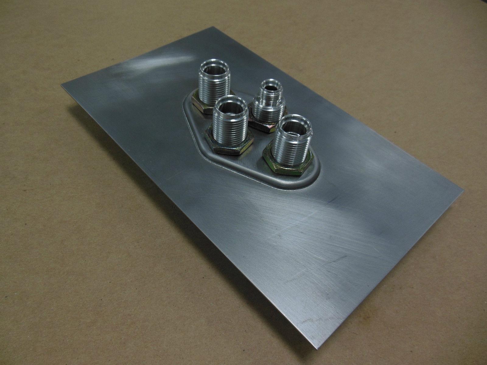 Vintage Air Bulkhead - 4-way Diamond - 18 Gauge Sheet Metal Panel