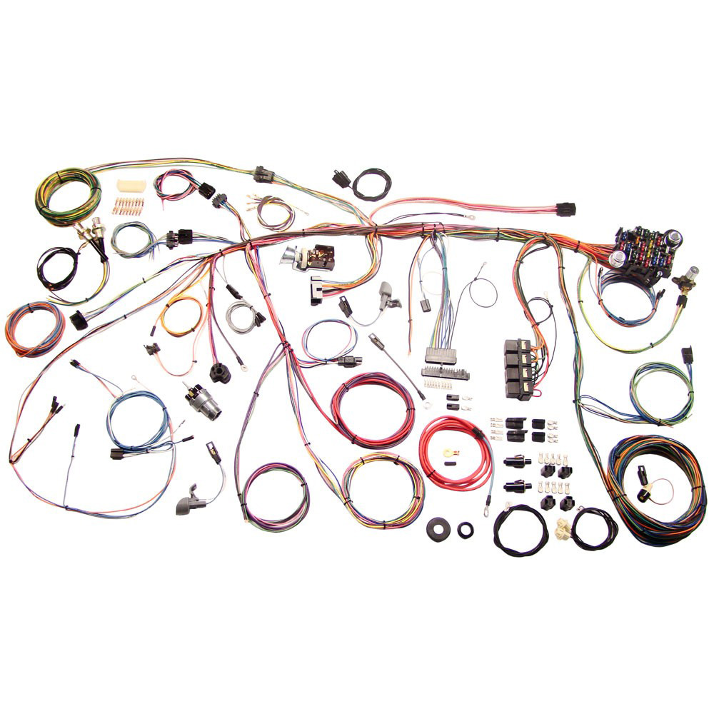 American Autowire - Wiring Kit - 1969 Mustang