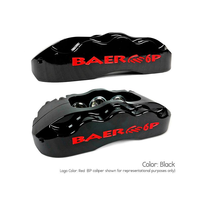 6 Piston Disc Brake kits - BAER BRAKES - Pro+ Brake System