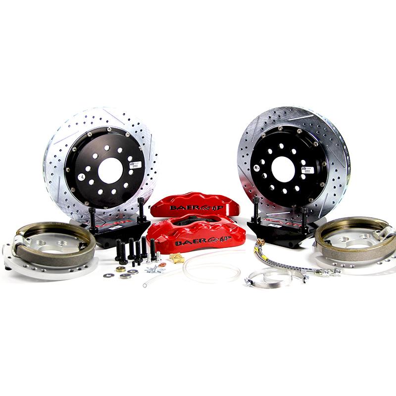 "BAER Brakes - 14"" Rear Pro+ Rear Brake Kit"