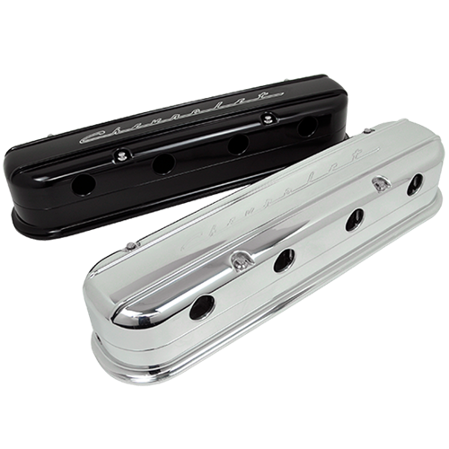 Billet Specialties - LS Chevrolet Script Valve Covers
