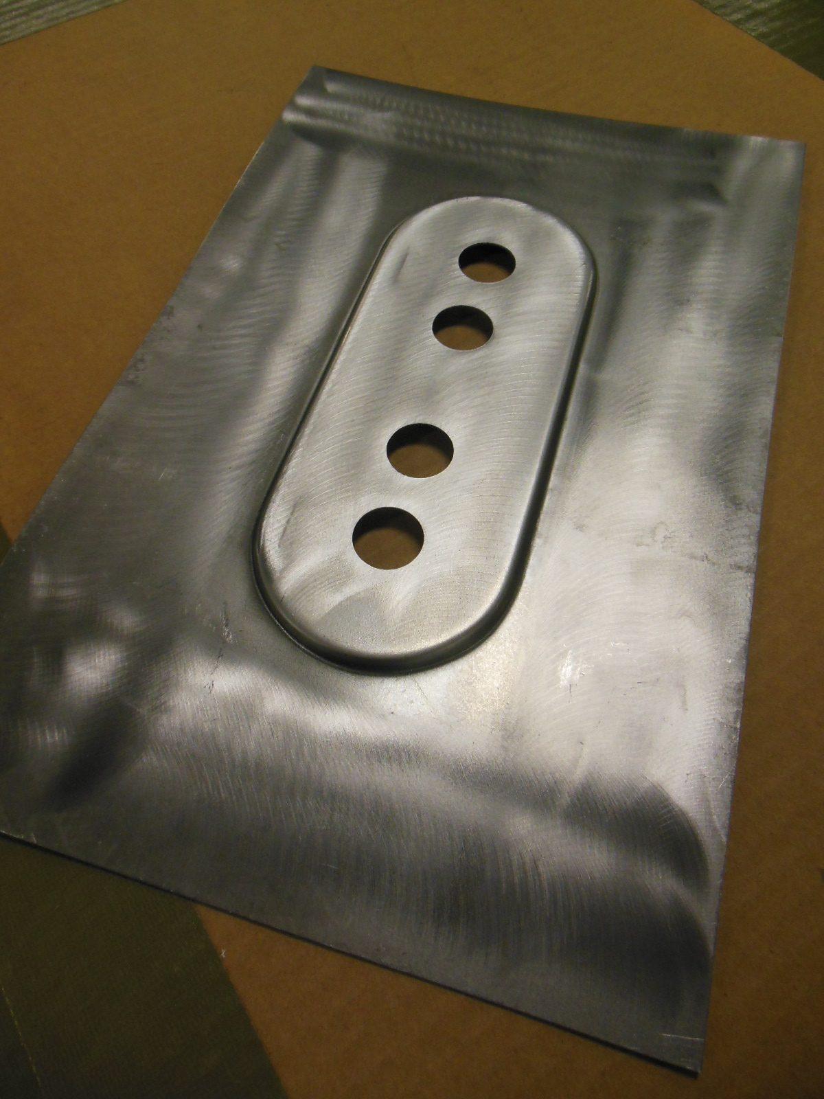 RestoMod Air Bulkhead - Diablo - 18ga. sheetmetal panel