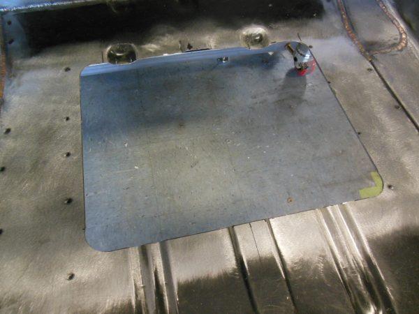 EFI Fuel Pump - Access Panel Kit