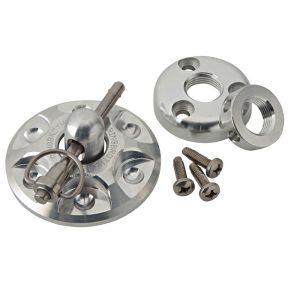Hood Pins - Universal - Billet Aluminum - Stainless Steel Quick Pin