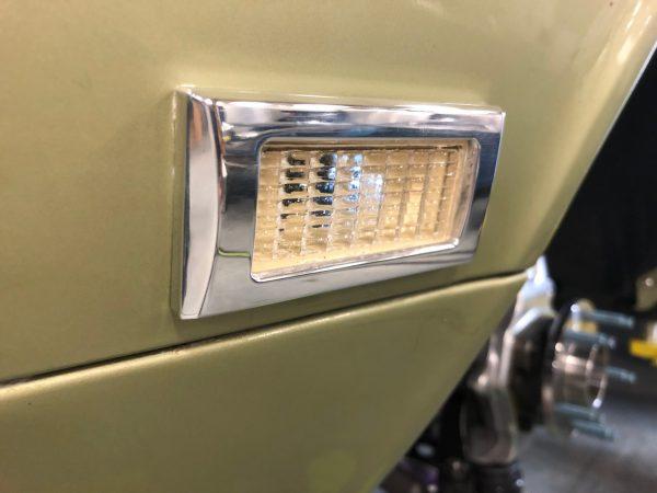 1968 Camaro - Marker Light Bezels - Billet