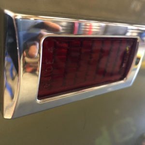 1968 Camaro - Marker Light Bezels - Billet