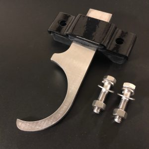 """Exhaust Hangers - 3"""" Diameter - Stainless - Right Angle"""