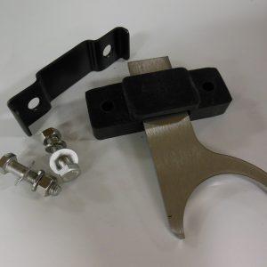"""Exhaust Hangers - 3"""" Diameter - Offset - Stainless Steel"""