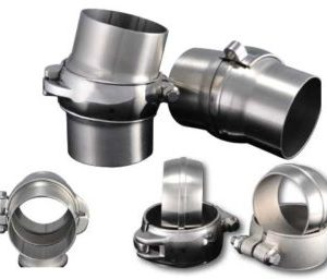 """3"""" Exhaust Flanges - Low Profile Clamps - Ultimate Headers"""