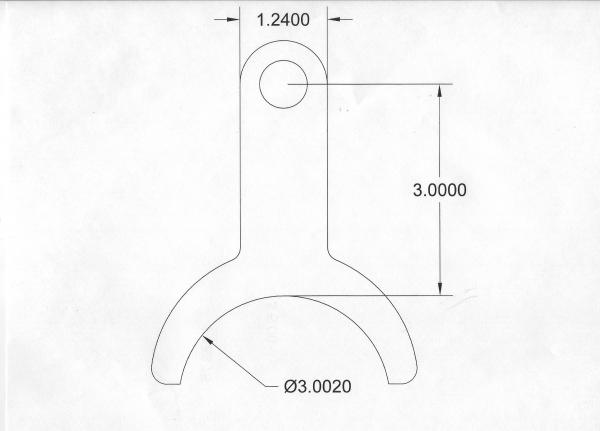 "Exhaust Hanger - 3"" Diameter - Stainless - Snap Mount"