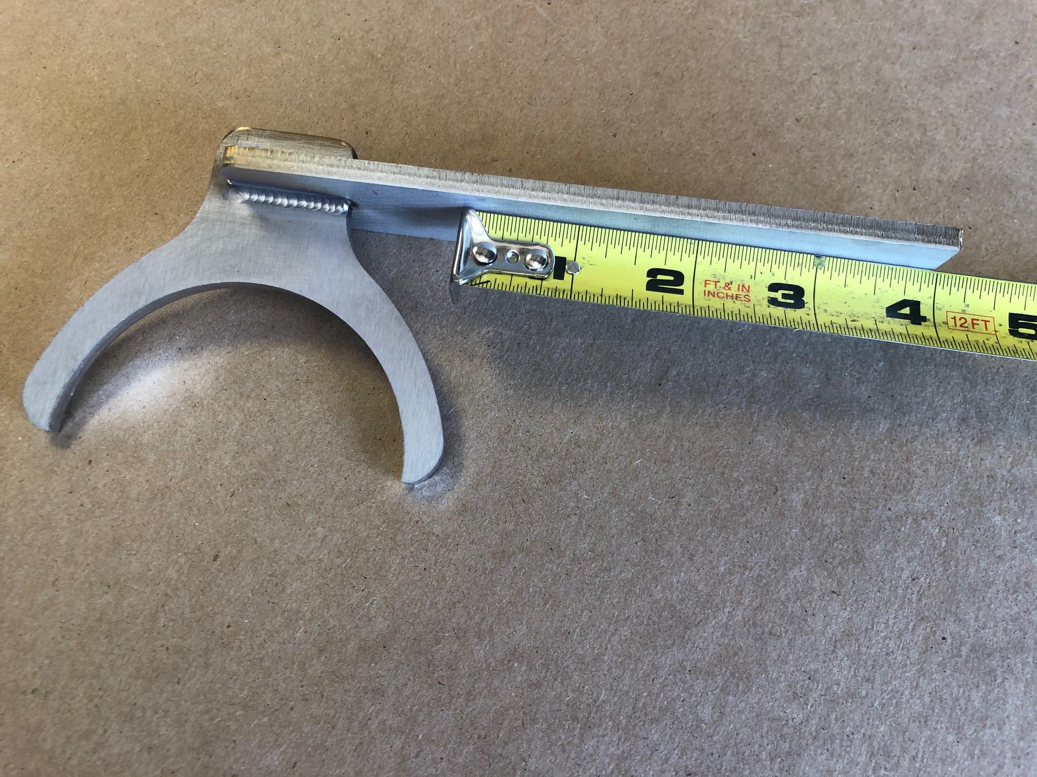 """3"""" Diameter Exhaust Hanger - NEW DESIGN - Stainless Steel"""