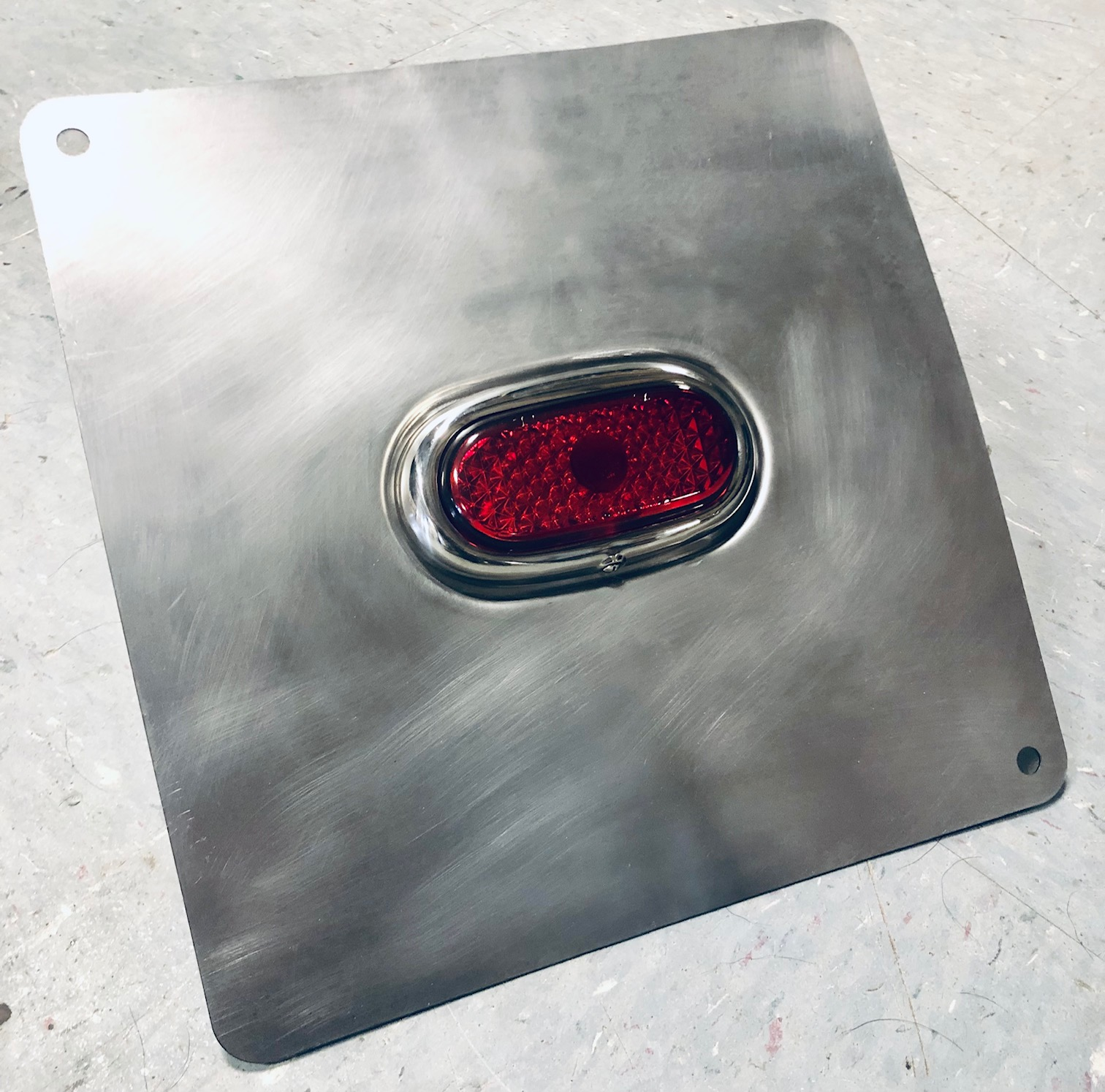 1942-1948 Ford Taillights - 18ga Steel Recessed Panels