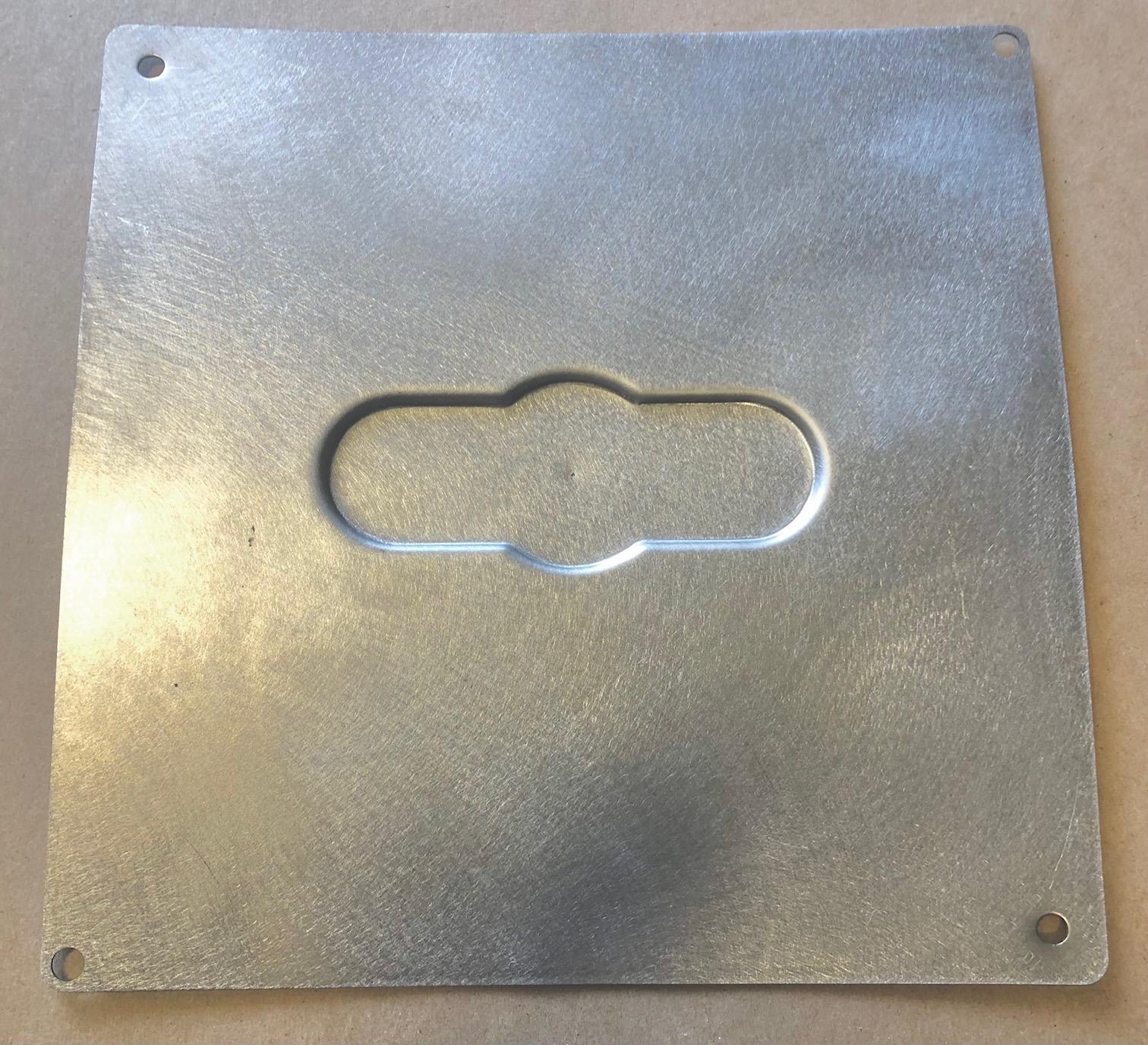 A/C Control - Recessed Panel - RestoMod Air Triq Controller